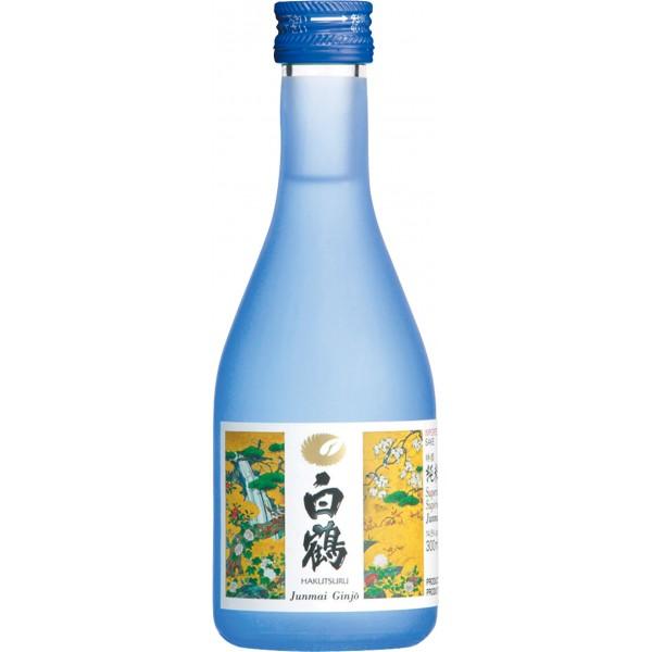Hakutsuru Superior Junmai Ginjo (Blue 300ml)-600x600